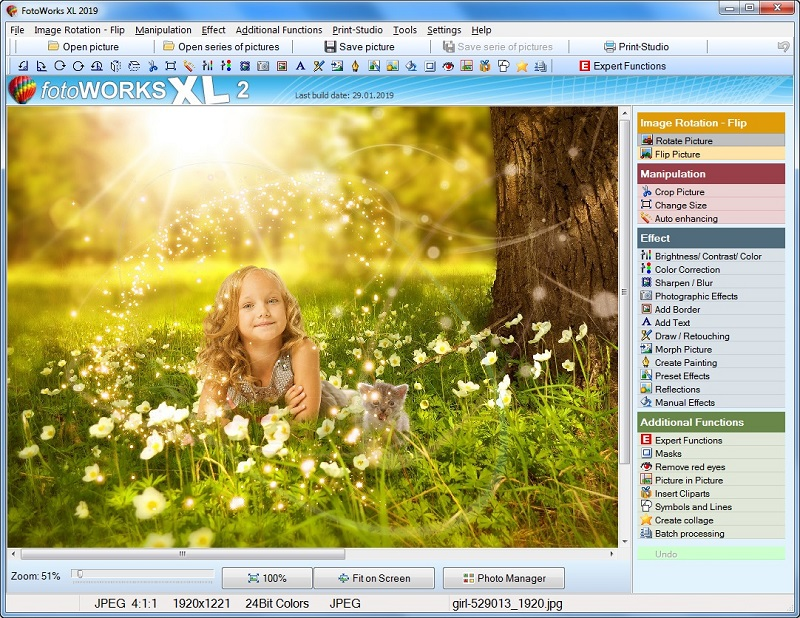 Professional Photo Editing Software or Edit Pictures Download