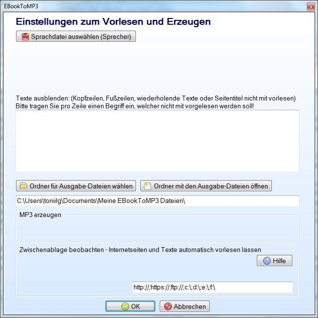 Text vorlesen lassen deutsch